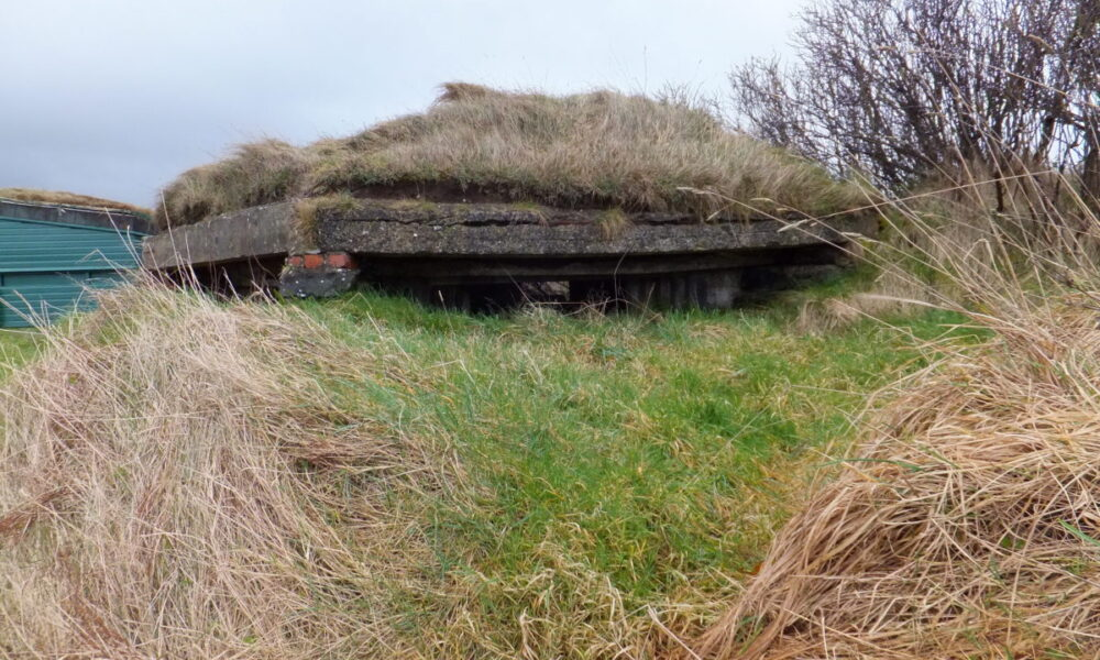 Grange Beg Pillbox at the Barmouth in Castlerock which will be resorted and made safe for visitor use.