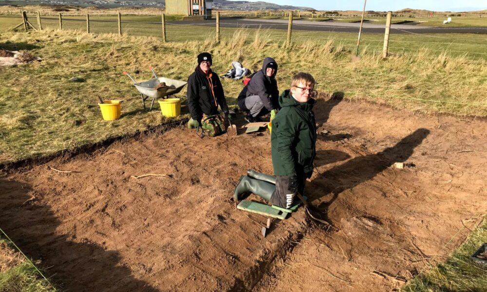 WW1 Trench Excavation at Magilligan